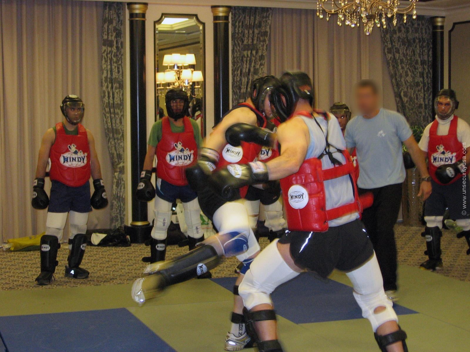 Unmillennium Security Services Training – Boxing
