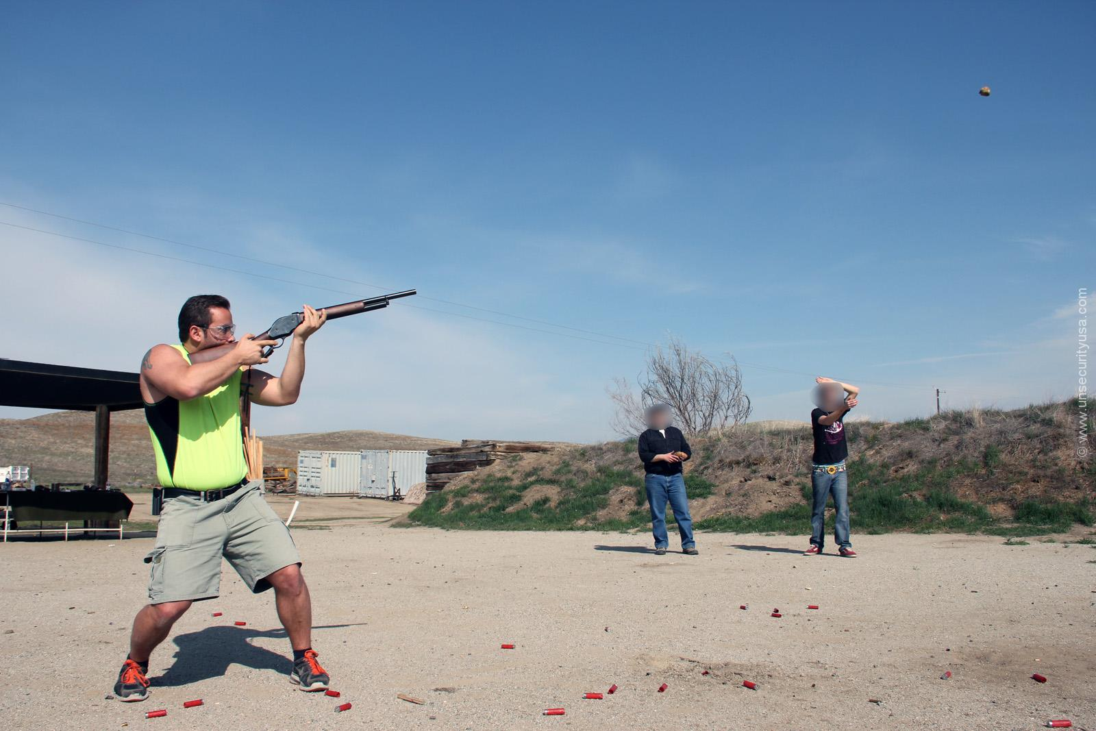 Unmillennium Training Instructor Shooting